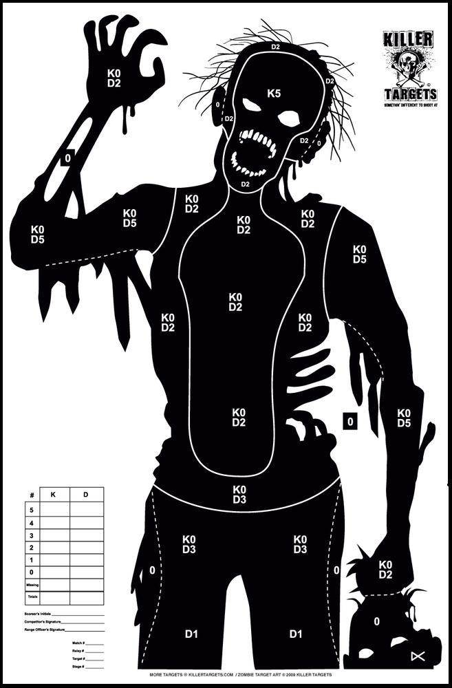 Opposed to shooting at human silhouettes? Here's a solution