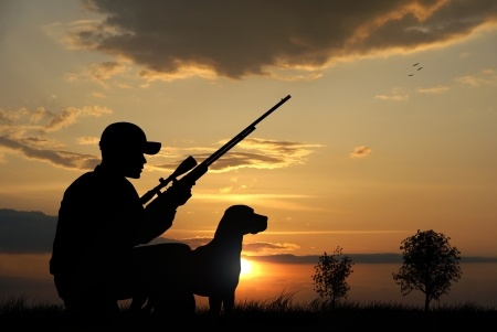 Connection between hunting and a peaceful mind